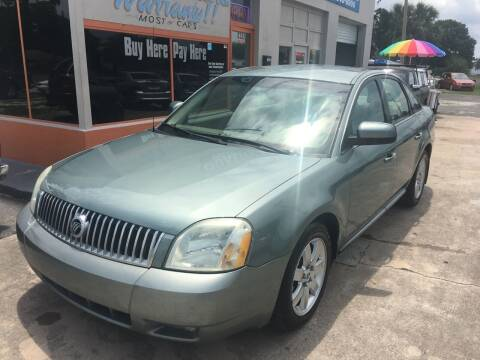 2006 Mercury Montego for sale at QUALITY AUTO SALES OF FLORIDA in New Port Richey FL