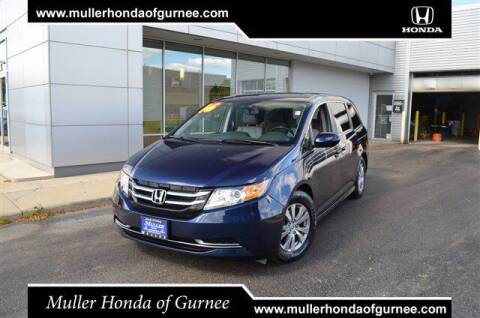 2016 Honda Odyssey for sale at RDM CAR BUYING EXPERIENCE in Gurnee IL