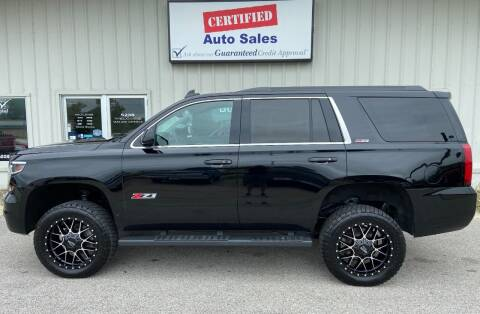 2015 Chevrolet Tahoe for sale at Certified Auto Sales in Des Moines IA