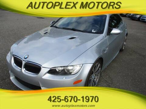 2008 BMW M3 for sale at Autoplex Motors in Lynnwood WA