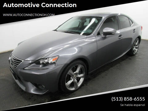 2014 Lexus IS 350 for sale at Automotive Connection in Fairfield OH