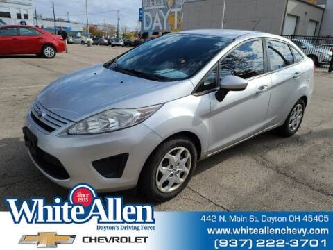 2012 Ford Fiesta for sale at WHITE-ALLEN CHEVROLET in Dayton OH