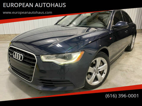 2012 Audi A6 for sale at EUROPEAN AUTOHAUS in Holland MI