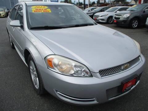 2013 Chevrolet Impala for sale at GMA Of Everett in Everett WA