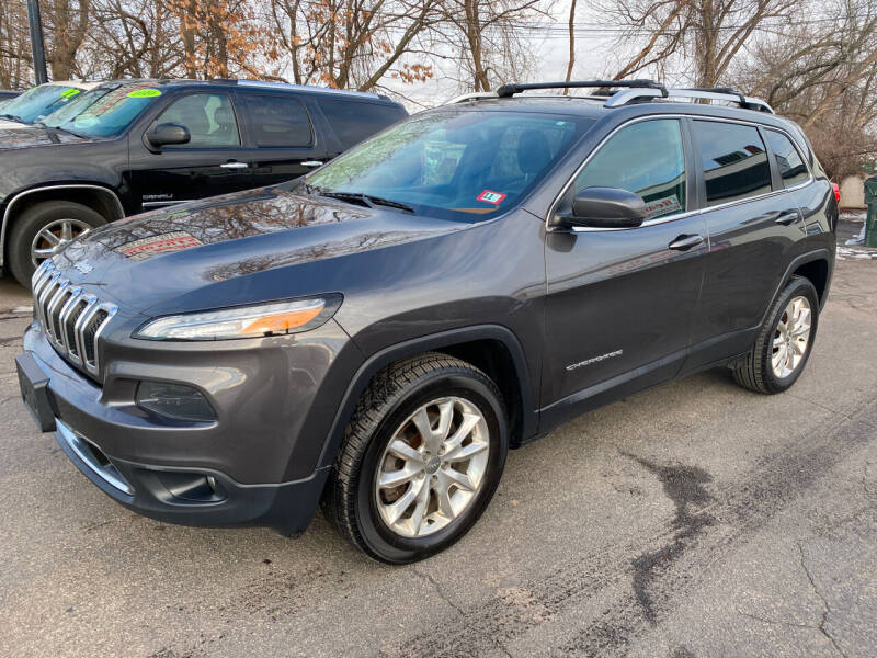 2015 Jeep Cherokee for sale at Real Deal Auto Sales in Manchester NH