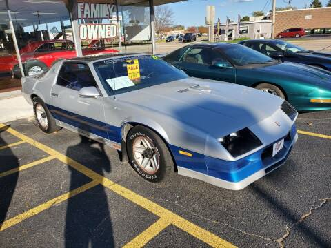 1982 Chevrolet Camaro for sale at Stach Auto in Janesville WI