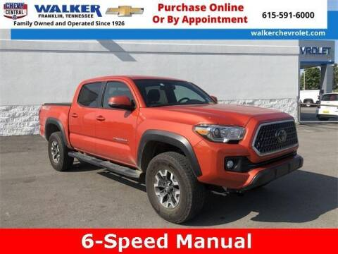 2018 Toyota Tacoma for sale at WALKER CHEVROLET in Franklin TN