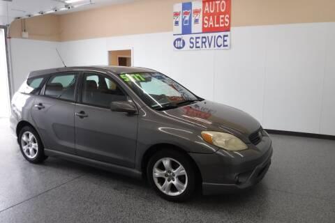 2006 Toyota Matrix for sale at 777 Auto Sales and Service in Tacoma WA