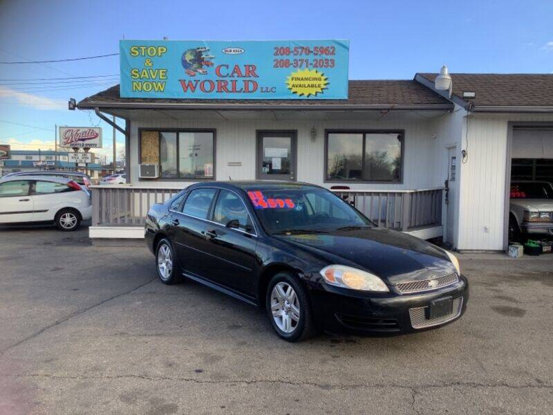 2013 Chevrolet Impala for sale at CAR WORLD in Nampa ID