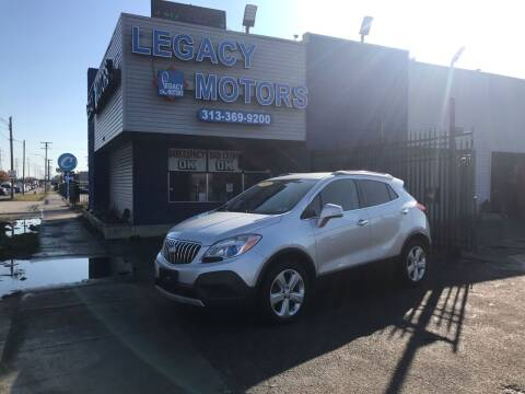 2015 Buick Encore for sale at Legacy Motors in Detroit MI