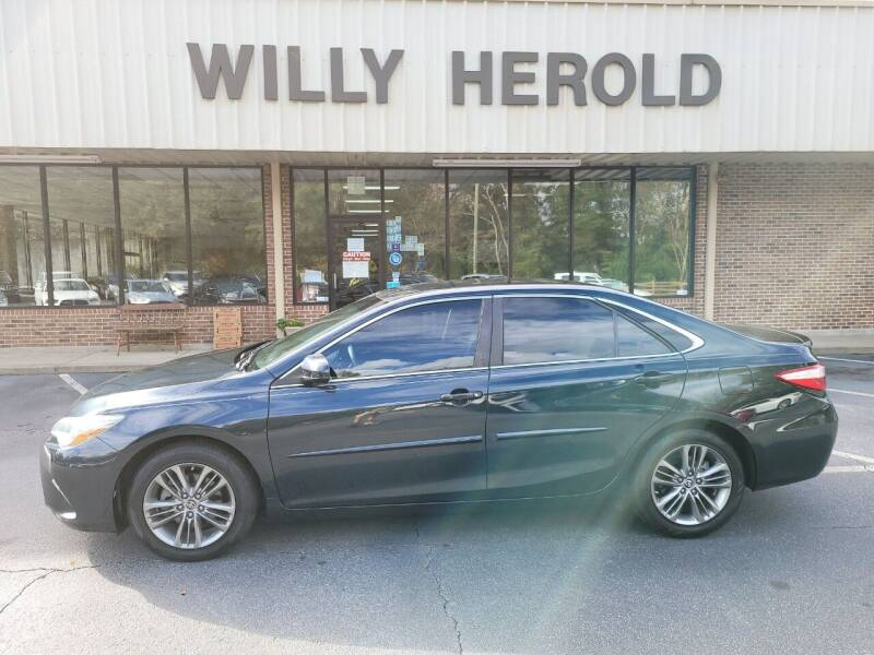 2015 Toyota Camry for sale at Willy Herold Automotive in Columbus GA