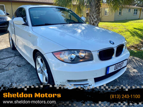 2011 BMW 1 Series for sale at Sheldon Motors in Tampa FL