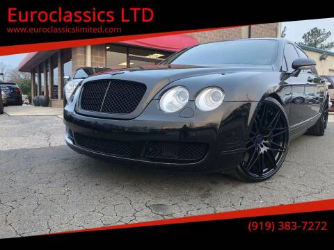 2006 Bentley Continental for sale at Euroclassics LTD in Durham NC