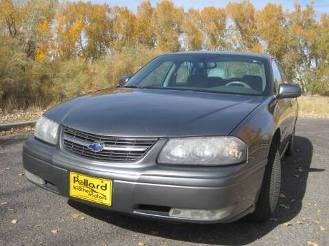 2004 Chevrolet Impala for sale at Pollard Brothers Motors in Montrose CO