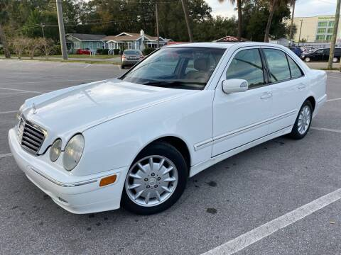 2000 Mercedes-Benz E-Class for sale at CHECK  AUTO INC. in Tampa FL