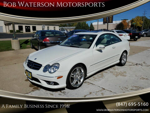 2008 Mercedes-Benz CLK for sale at Bob Waterson Motorsports in South Elgin IL
