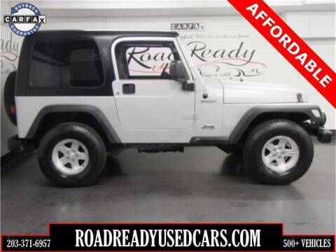 2006 Jeep Wrangler for sale at Road Ready Used Cars in Ansonia CT