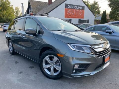 2018 Honda Odyssey for sale at Discount Auto Brokers Inc. in Lehi UT