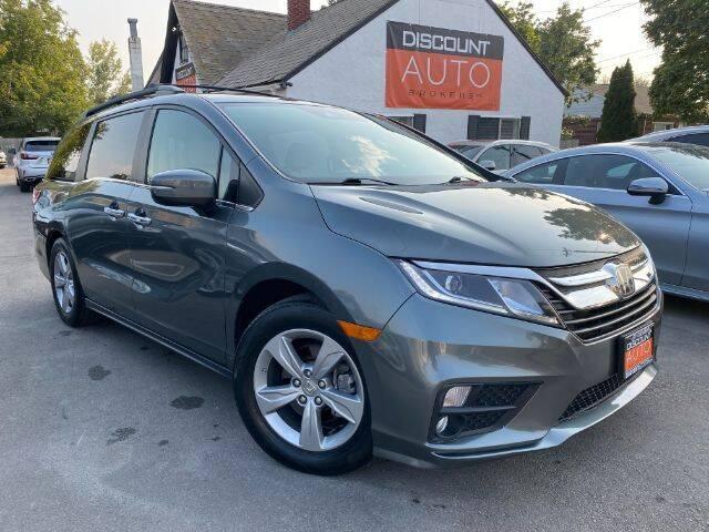 2018 Honda Odyssey for sale at Discount Auto Brokers Inc. in Lehi UT