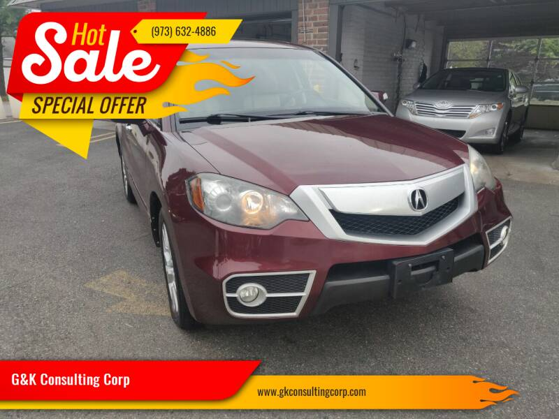 2011 Acura RDX for sale at G&K Consulting Corp in Fair Lawn NJ