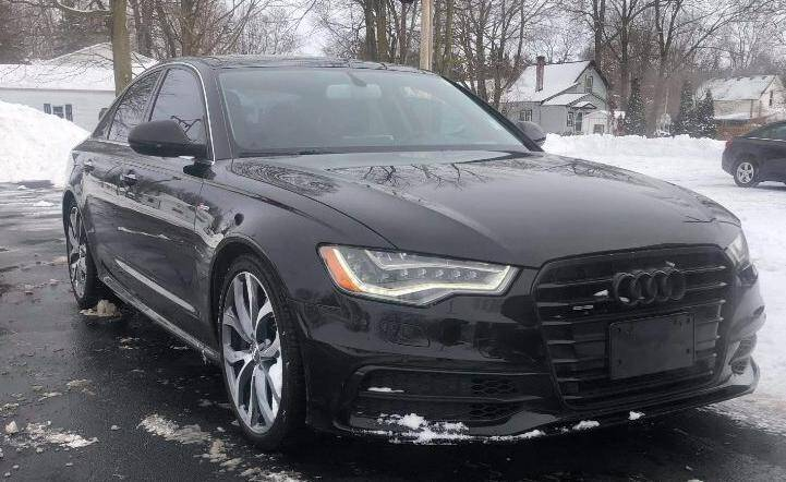 2012 Audi A6 for sale at The Car Mart in Milford IN