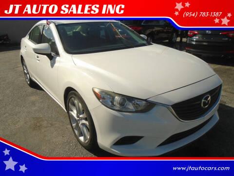 2016 Mazda MAZDA6 for sale at JT AUTO SALES INC in Oakland Park FL