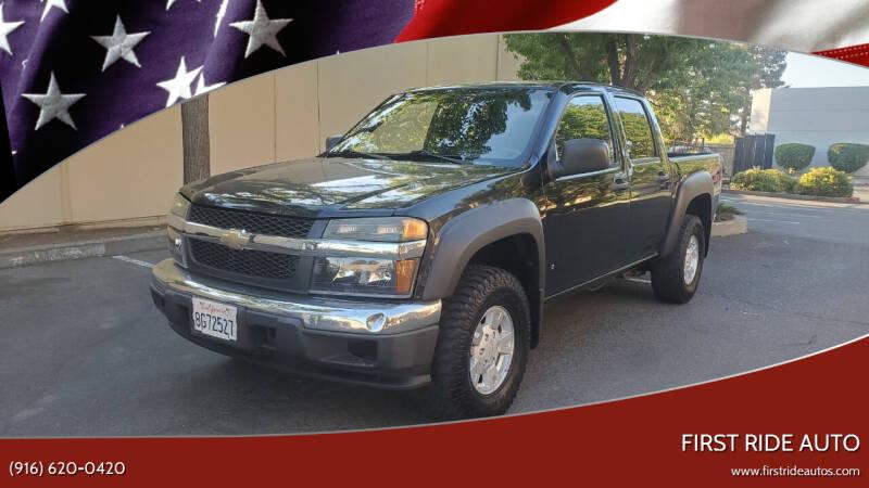 2007 Chevrolet Colorado for sale at First Ride Auto in Sacramento CA