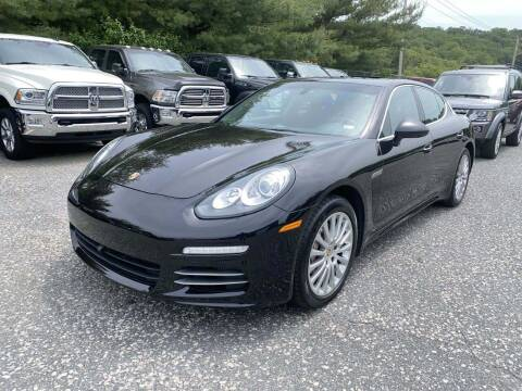 2014 Porsche Panamera for sale at Mass Auto Exchange in Framingham MA