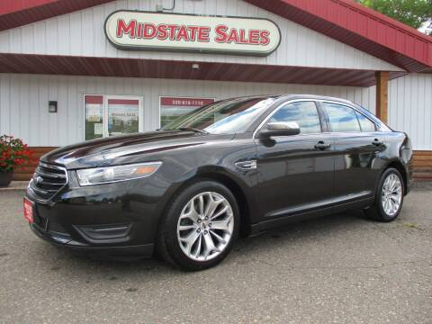 2015 Ford Taurus for sale at Midstate Sales in Foley MN