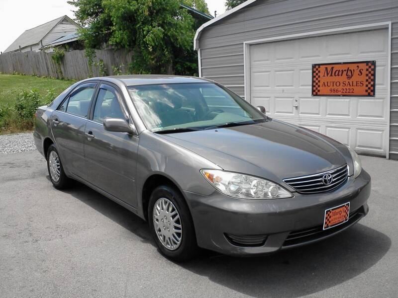 2006 Toyota Camry for sale at Marty's Auto Sales in Lenoir City TN