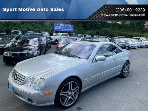 2002 Mercedes-Benz CL-Class for sale at Sport Motive Auto Sales in Seattle WA