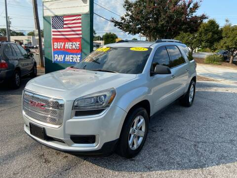 2015 GMC Acadia for sale at Import Auto Mall in Greenville SC