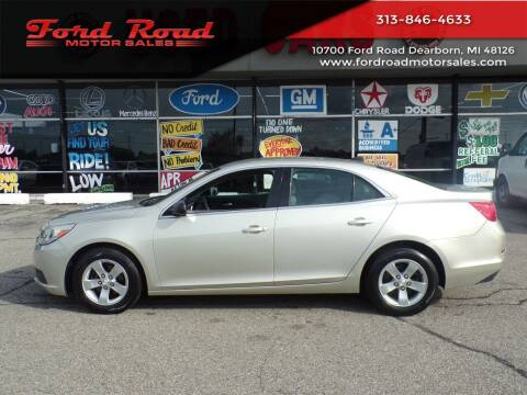 2014 Chevrolet Malibu for sale at Ford Road Motor Sales in Dearborn MI
