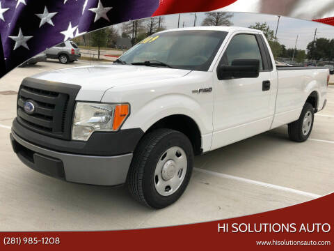 2009 Ford F-150 for sale at HI SOLUTIONS AUTO in Houston TX