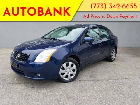2008 Nissan Sentra for sale at AutoBank in Chicago IL