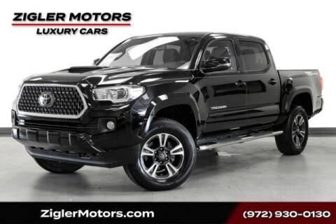 2019 Toyota Tacoma for sale at Zigler Motors in Addison TX