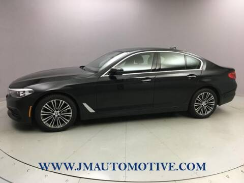 2017 BMW 5 Series for sale at J & M Automotive in Naugatuck CT