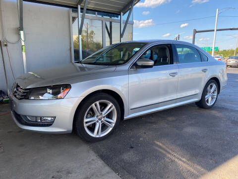2014 Volkswagen Passat for sale at Brian Jones Motorsports Inc in Danville VA