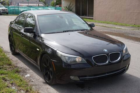 2010 BMW 5 Series for sale at SUPER DEAL MOTORS 441 in Hollywood FL