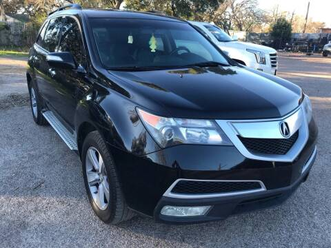 2011 Acura MDX for sale at Texas Luxury Auto in Houston TX
