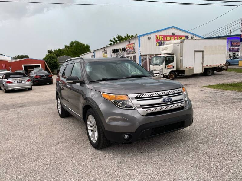 2014 Ford Explorer for sale at ONYX AUTOMOTIVE, LLC in Largo FL