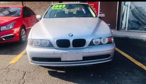 2003 BMW 5 Series for sale at Petra Auto Sales in Jacksonville FL