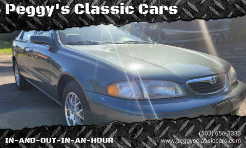 1999 Mazda 626 for sale at Peggy's Classic Cars in Oregon City OR