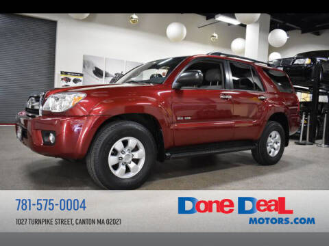 2007 Toyota 4Runner for sale at DONE DEAL MOTORS in Canton MA