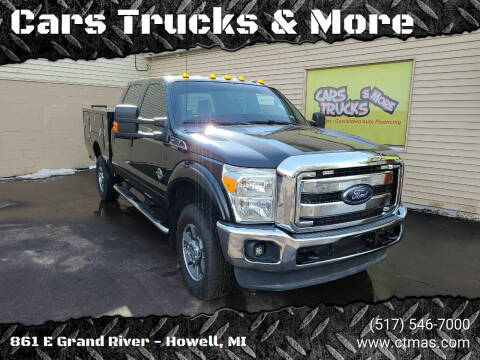 2012 Ford F-350 Super Duty for sale at Cars Trucks & More in Howell MI