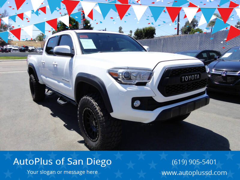 2017 Toyota Tacoma for sale at AutoPlus of San Diego in Spring Valley CA