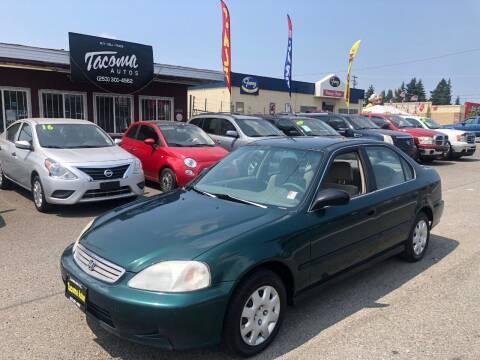 1999 Honda Civic for sale at Tacoma Autos LLC in Tacoma WA