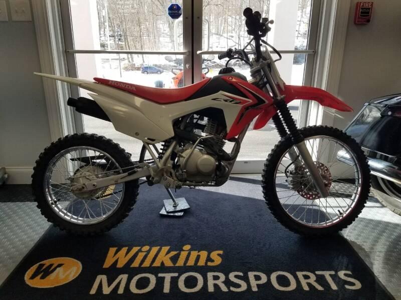 2017 Honda CRF-125 Big Wheel for sale at WILKINS MOTORSPORTS in Brewster NY
