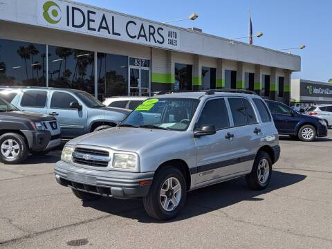 2002 Chevrolet Tracker for sale at Ideal Cars in Mesa AZ