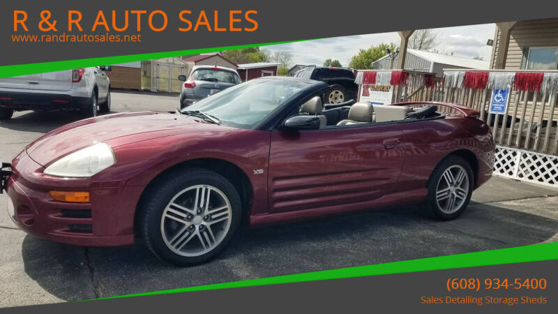 2003 Mitsubishi Eclipse Spyder for sale at R & R AUTO SALES in Juda WI